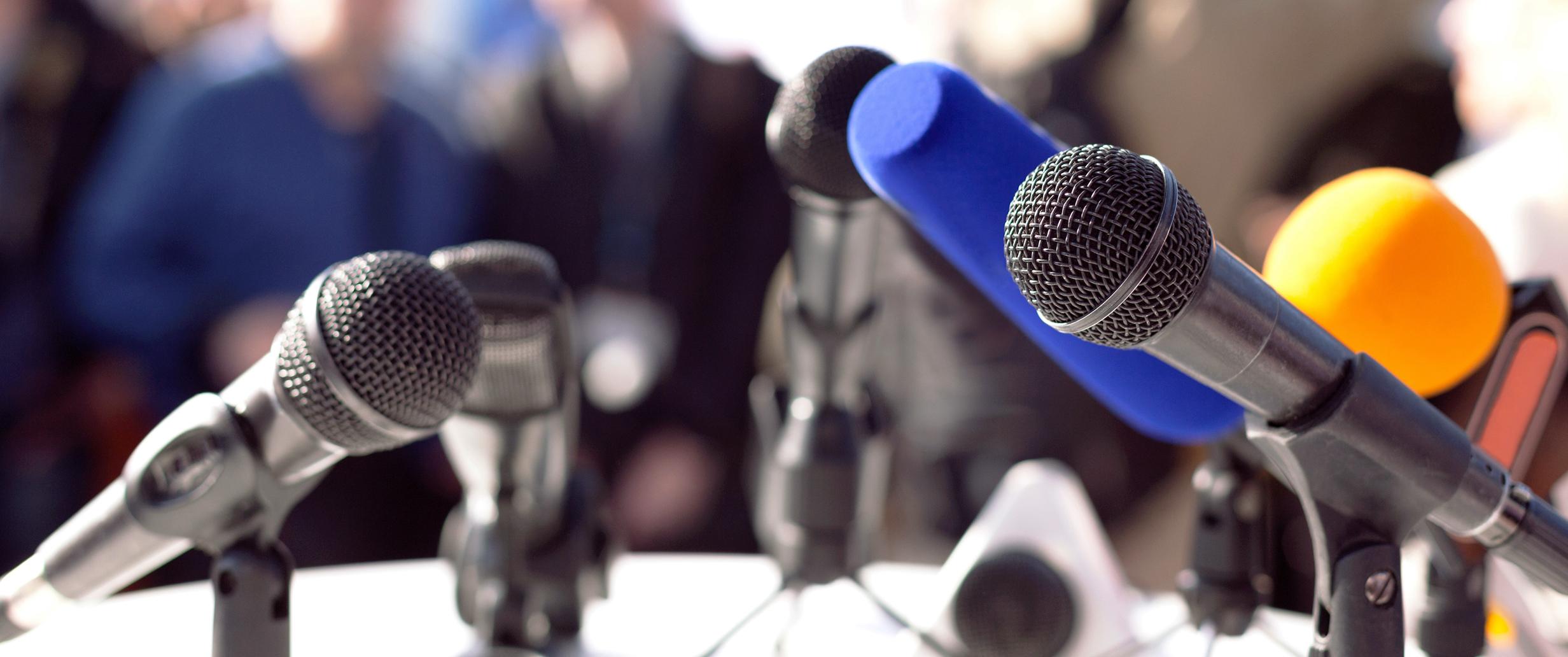 Pressekonferenz © fotolia