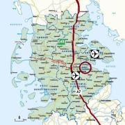 DK, D, Autobahn, Flugplätze, Ostsee
